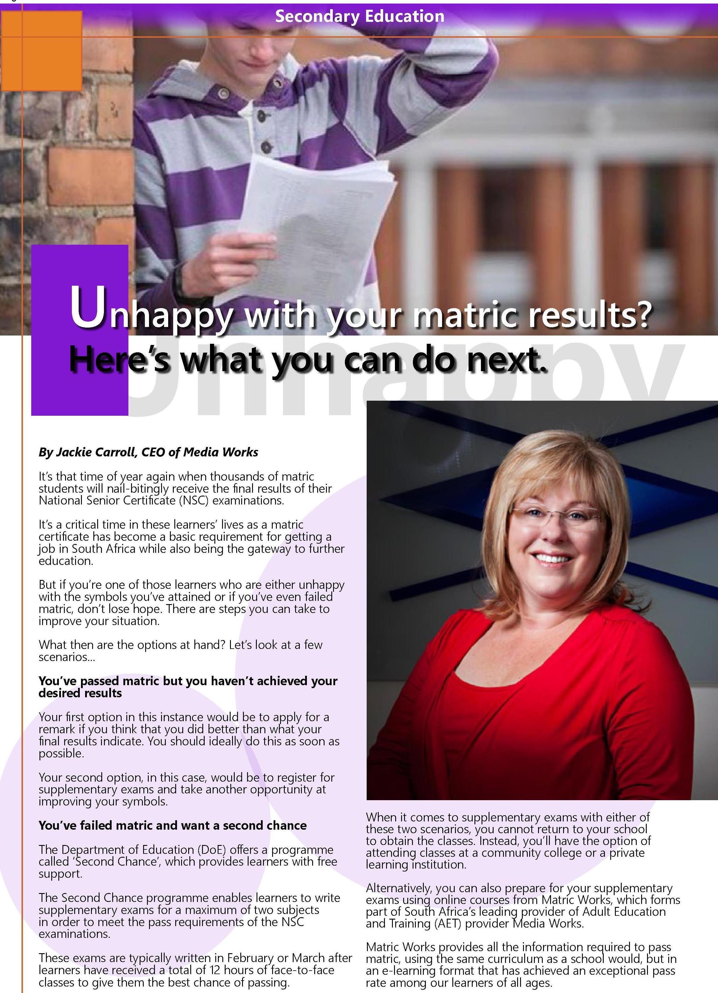 Media Works featured on EduSA Magazine