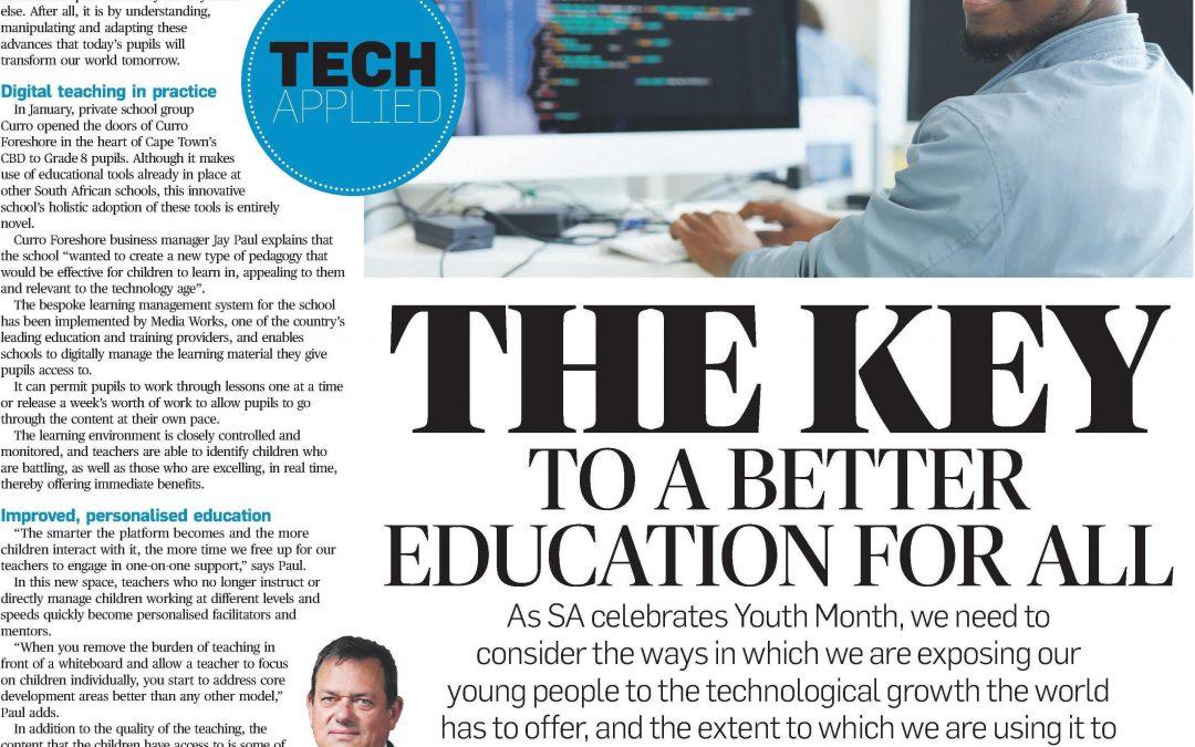 Tech in the SA classroom – media coverage in City Press